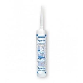 Weicon Aqua-Flex - Клей-герметик для мокрых и влажных поверхностей специальный flex, Белый, 310мл.