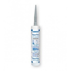 Weicon Aqua-Flex - Клей-герметик для мокрых и влажных поверхностей специальный flex, Серый, 310мл.