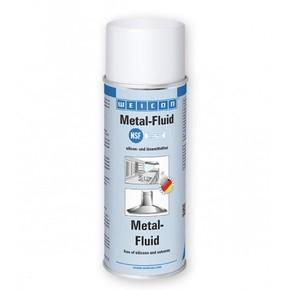 Weicon Metal-Fluid - Средство по уходу за металлами спрей, Молочный, 400мл.