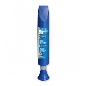 Weicon AN 305-67 - Клей-герметик анаэробный средней прочности и высокой вязкости an 305-67,до 0,60 мм, Белый, 200мл.