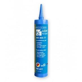 Weicon AN 305-77 - Клей-герметик анаэробный для газовых установок и систем водяного отопления an 305-77, Красный, 300мл.