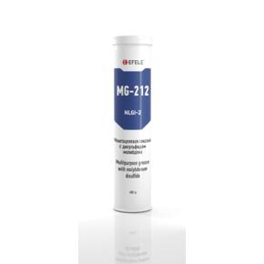 EFELE MG-212 - Пластичная смазка с EP присадками и дисульфидом молибдена (Картридж, 400г)