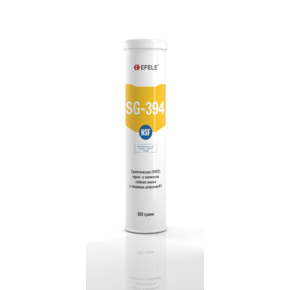 Пластичная смазка термо и химически стойкая с пищевым допуском h1 Efele sg-394 (efl0091075)