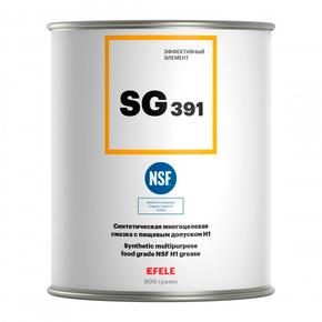 Пластичная смазка многоцелевая с пищевым допуском h1 Efele sg-391 (efl0091242)