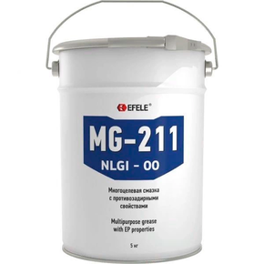 Смазка пластичная с ep присадками Efele mg-211 (efl0091396)
