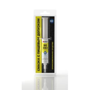 EFELE SG-393 - Пластичная смазка силиконовая с пищевым допуском H1 (Набор, 10 шт.х20 г)