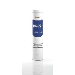 EFELE MG-221 - Пластичная смазка термо- и водостойкая для сверхвысоких нагрузок (ведро 10кг)