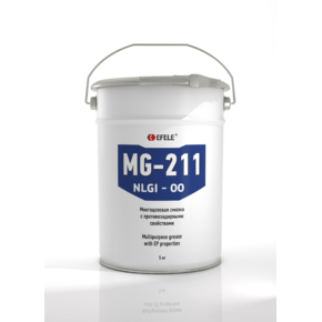 EFELE MG-211-00 - Пластичная смазка полужидкая с EP присадками (Ведро, 5 кг)