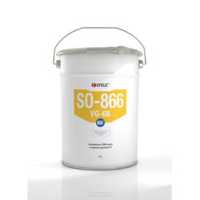 Масло синтетическое с пищевым допуском h1 Efele so-866 vg-68 (efl0092737)