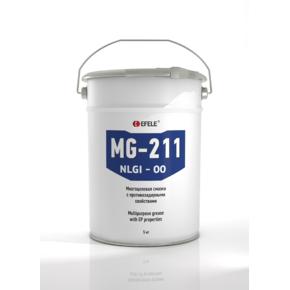EFELE MG-211-00 - Пластичная смазка полужидкая с EP присадками (Бочка, 180 кг)