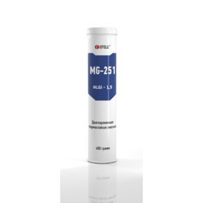 Смазка пластичная с ep-присадками Efele mg-251 долговременная (полимочевина (efl0093178)