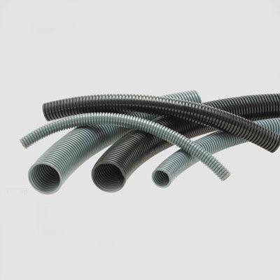 Гофрированная труба Helukabel HELUcond PA6 L NW 14 FEINGERILLT, LEICHT серый