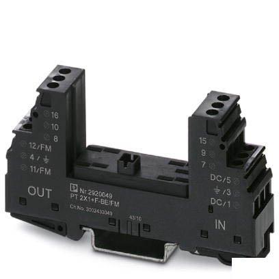 Базовый элемент для защиты от перенапряжений PT 2X1+F-BE