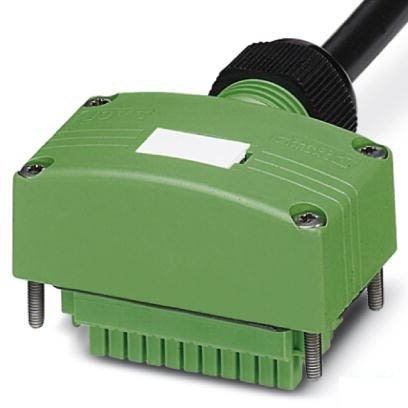 Разъем с кабелем SACB-C-H180-4/ 4- 5,0PUR SCO