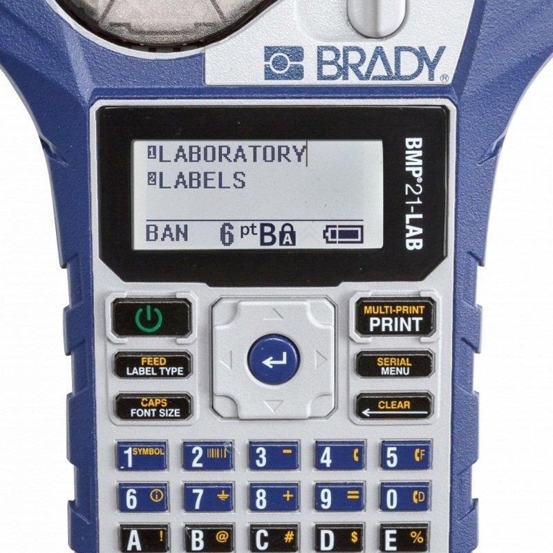 Принтер-маркиратор ленточный портативный Brady bmp21-lab eng m21-750-7425