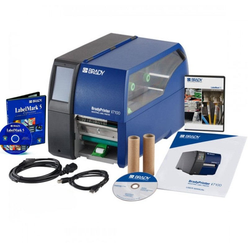 Принтер термотрансферный настольный Brady i7100-600-EU 600dpi