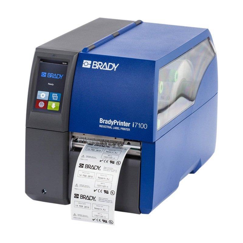 Принтер термотрансферный стационарный Brady i7100-300-P-EU 300dpi с функцией отделения этикеток