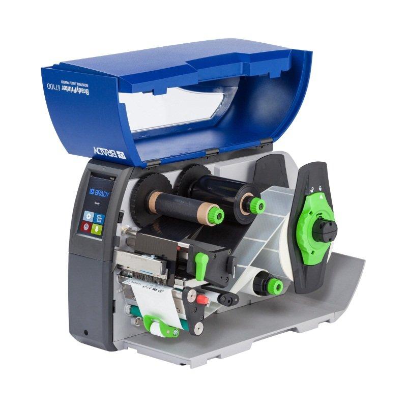 Принтер термотрансферный стационарный Brady i7100-600-P-EU 600dpi с функцией отделения этикеток