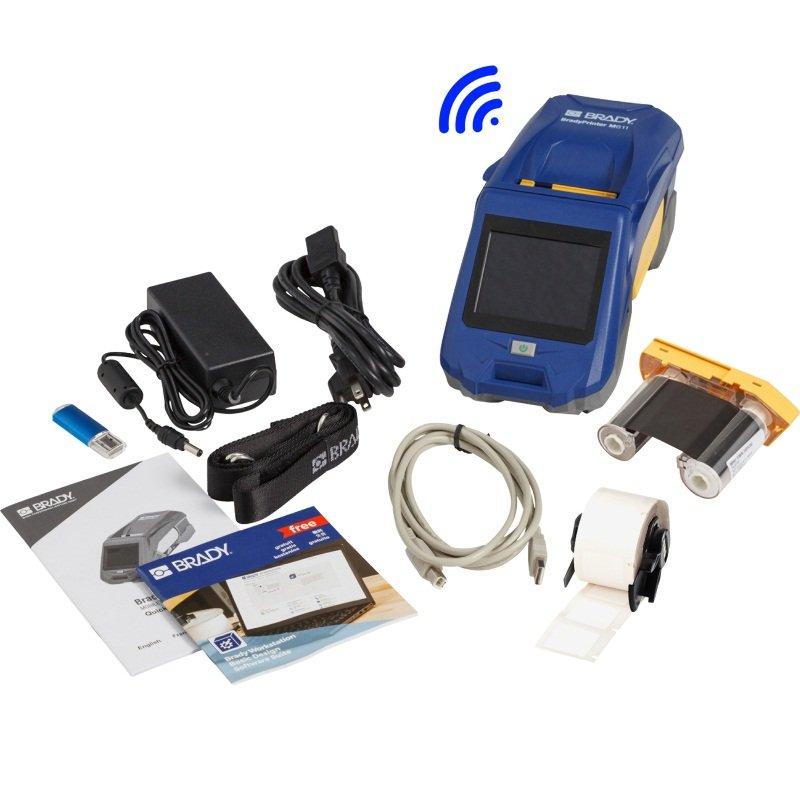 brd149570 - Принтер M611-EU-BT-W с WIFI. В компл.: USB кабель, шнур питания, ремень, PTL-97-488, M61