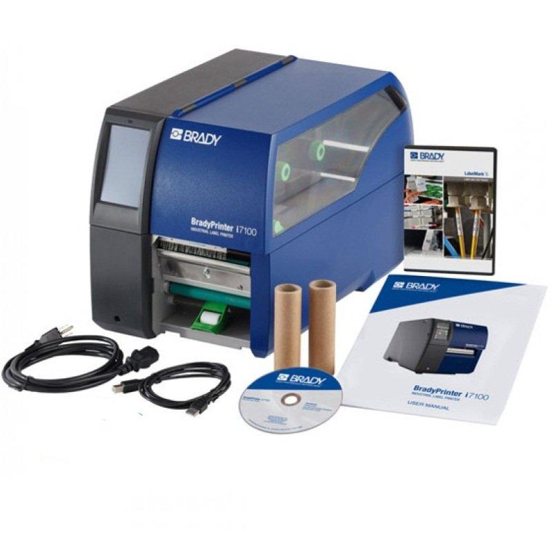 Принтер термотрансферный настольный Brady i7100-300-EU+LM 300dpi, LabelMark