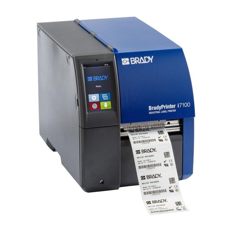 Принтер термотрансферный стационарный Brady i7100-600-P-EU+LM 600dpi с функцией отделения этикеток