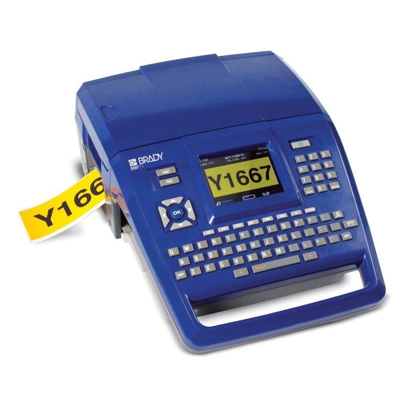 Принтер термотрансферный портативный BMP71 русско-английская клавиатура, LabelMark, Markware, жесткий кейс