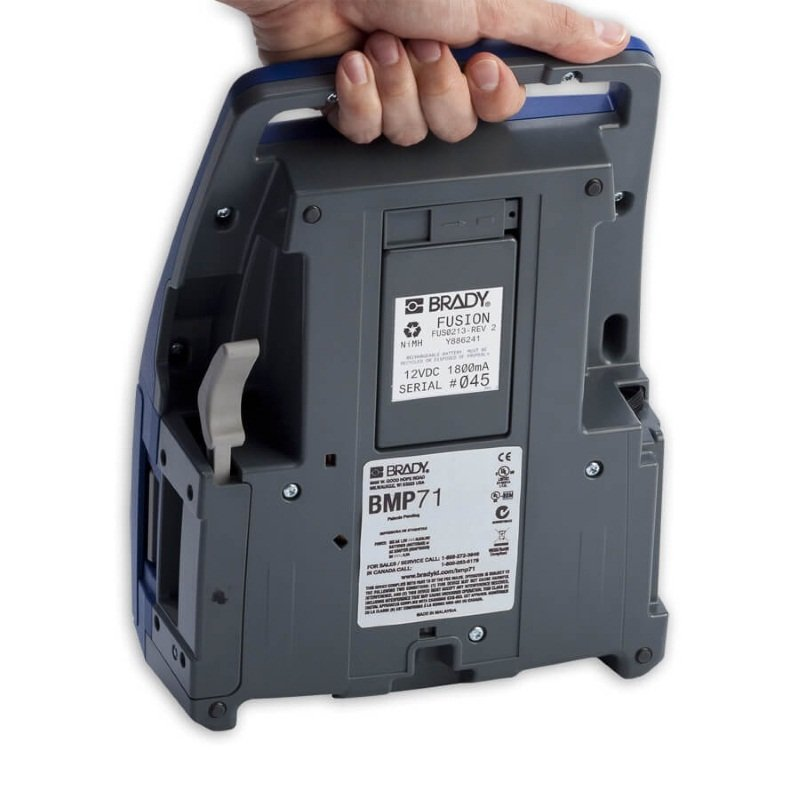 Принтер термотрансферный портативный BMP71 английская клавиатура, LabelMark, Markware, жесткий кейс