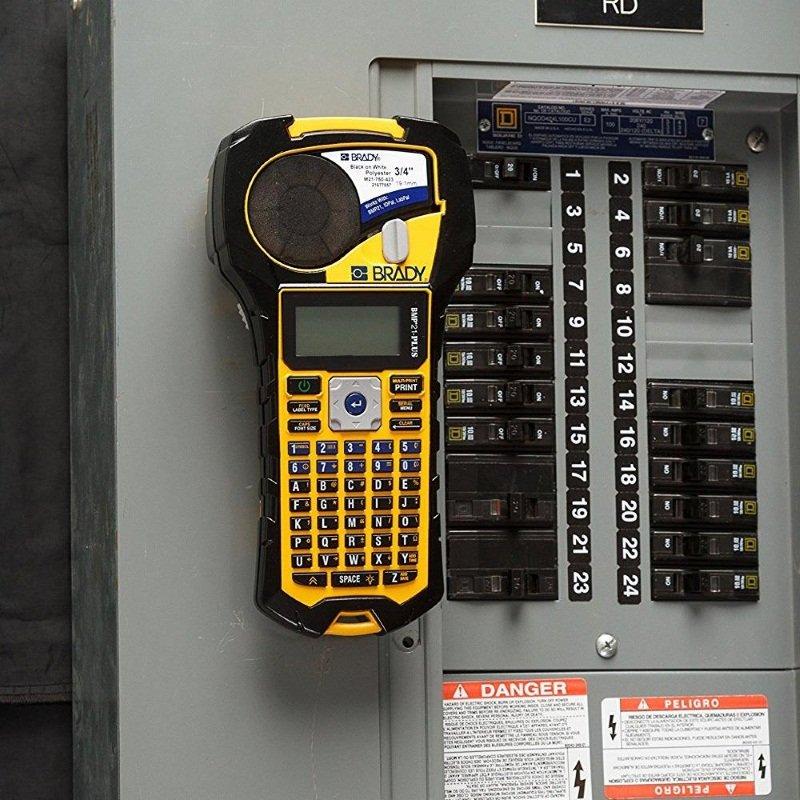 brd710684 - BMP21 (RUS) Портативный ленточный принтер-маркиратор. Комплект монтажника Телеком/Элект