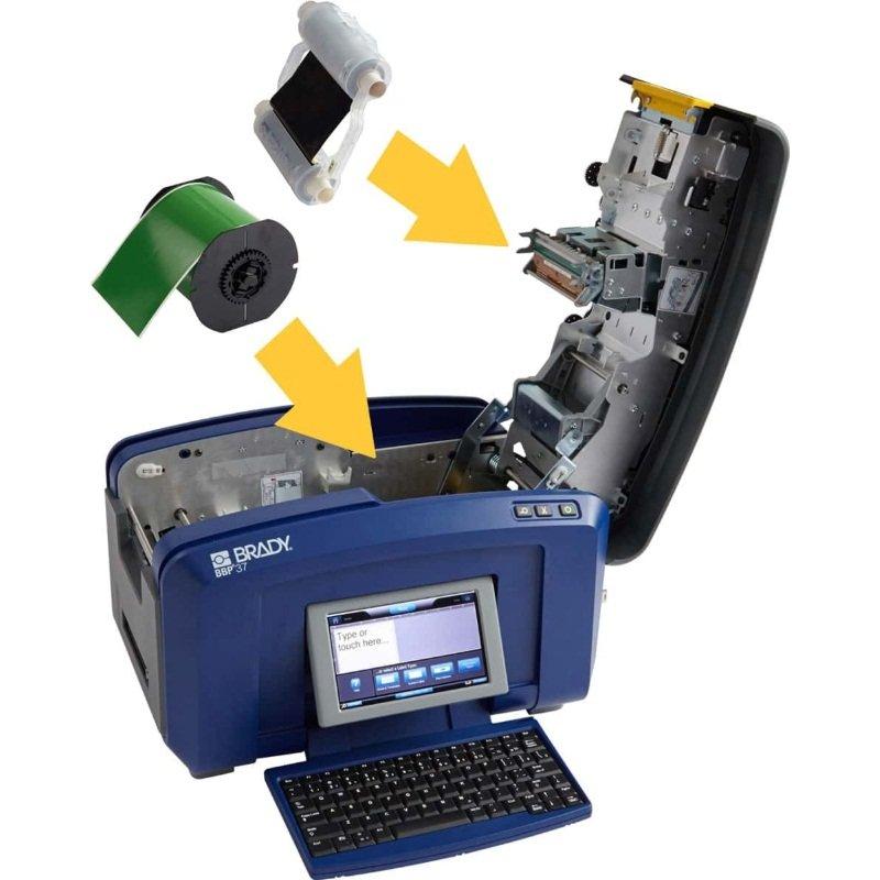 Принтер промышленный для печати и вырубки знаков и этикеток BBP37 Multicolour and Cut Sign and Label Printer – CYRILLIC.