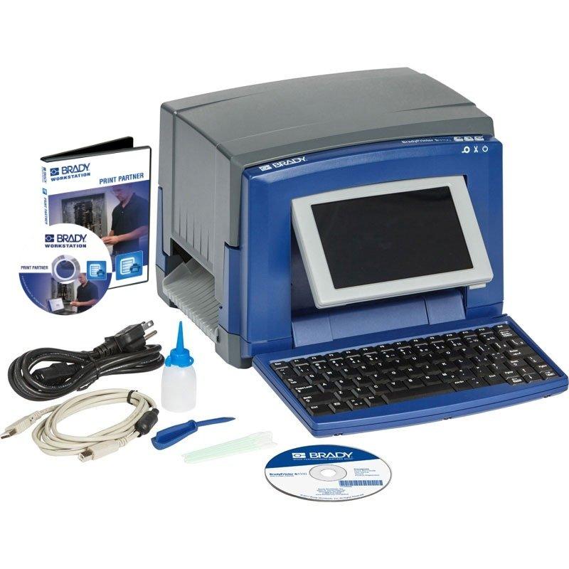 Принтер термотрансферный настольный S3100-CYR-W-SFIDS русско-английская клавиатура