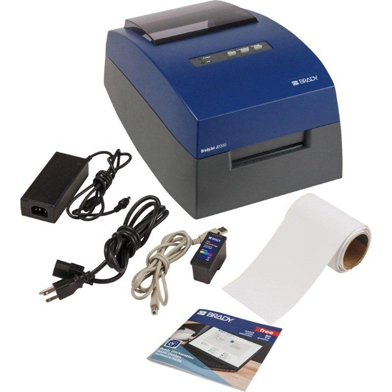 gws199966 - Принтер струйный J2000-EU-LABS (шнур питания и адаптер переменного тока, кабель USB, кра