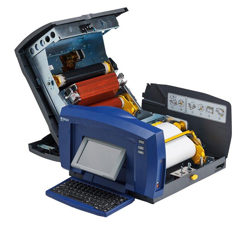 Принтер термотрансферный настольный Brady bbp85,русско-английская клавиатура,markware, Комплект