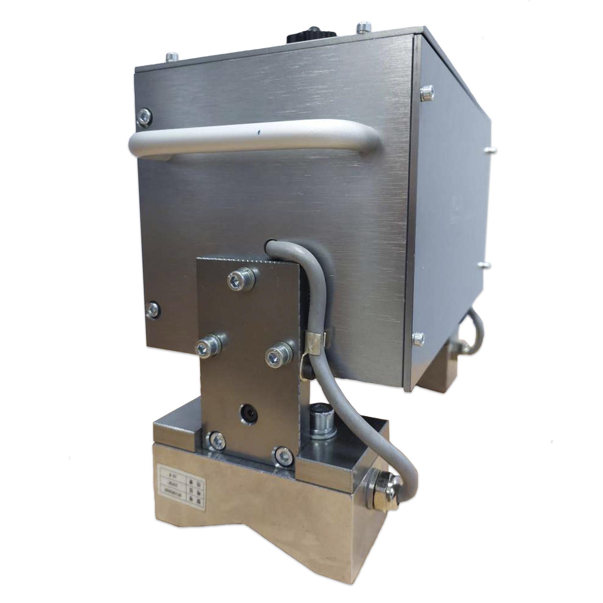 Портативный пневматический ударно-точечный маркиратор RUSMARK PMK-GC02, LCD экран, ПО Kingmark, окно 130*30мм