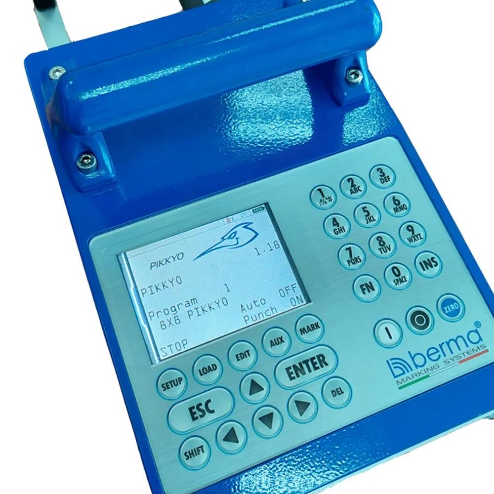 Портативный аккумуляторный ударно-точечный маркиратор PIKKYO-sp74, окно 74мм*30мм, Италия