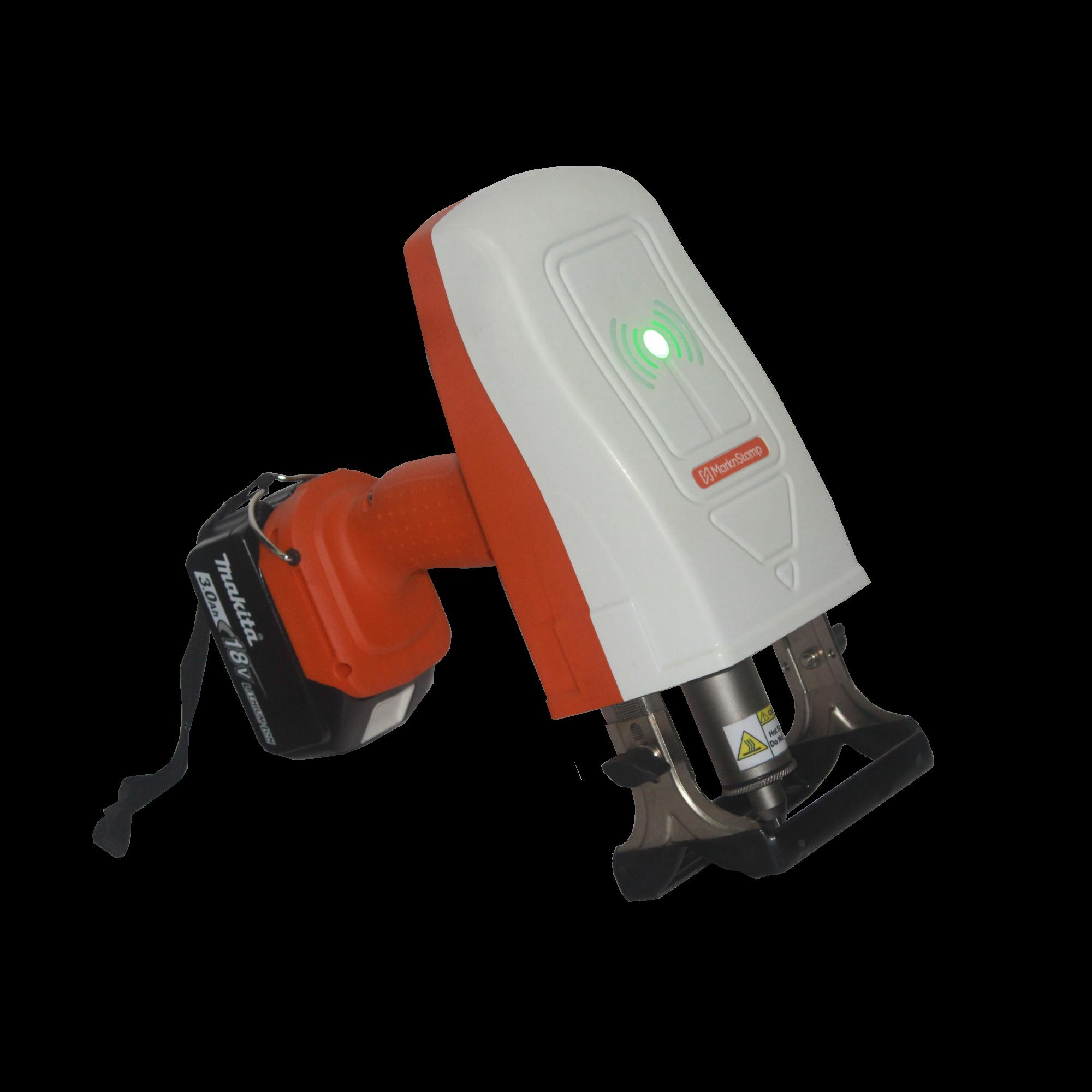 MNSB-53 Мобильный аккумуляторный ударно-точечный маркиратор Marknstamp с рабочим окном 50х30 мм