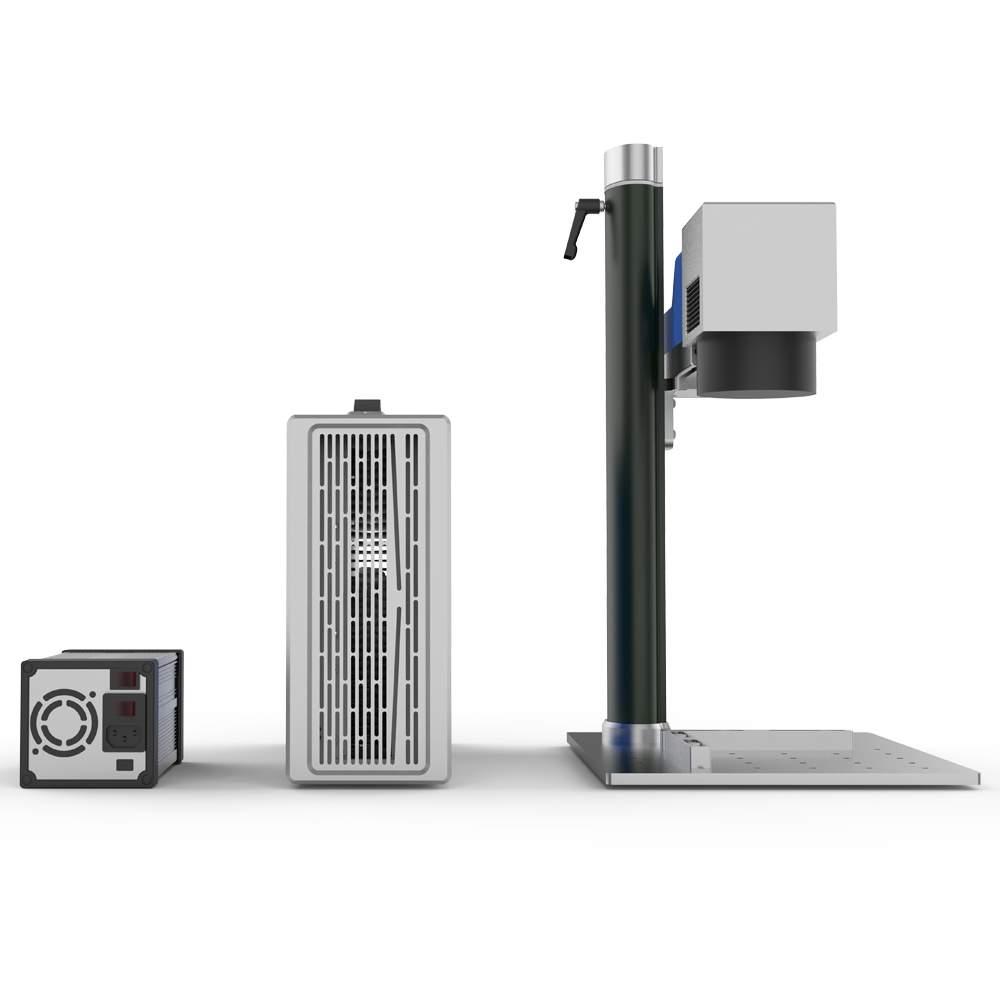 Лазерный маркиратор Rusmark FLMM-BC02 20Вт, окно 150*150мм, компактный